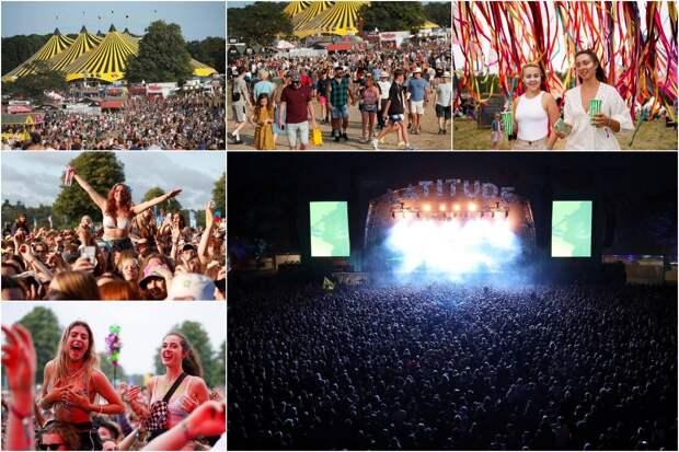40 000 человек насладились шоу без социальной дистанции имасок на музыкальном фестивале Latitude