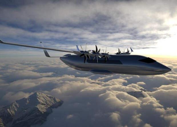 Французы занялись разработкой 19-местного электрического самолета