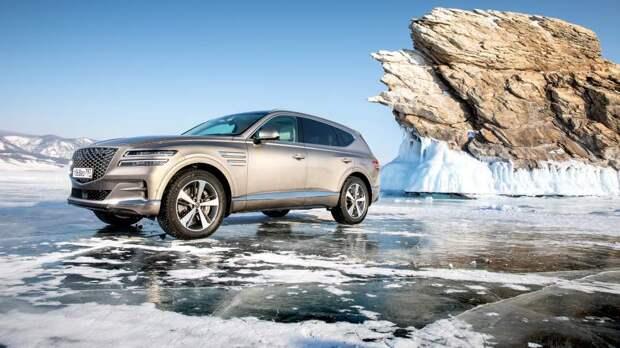 Genesis представила в Москве два новых автомобиля