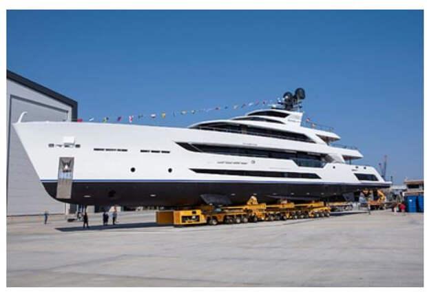 В Турции построили самую длинную в мире яхту из стали