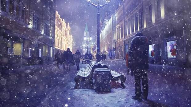 Самой морозной с начала зимы стала минувшая ночь в Москве