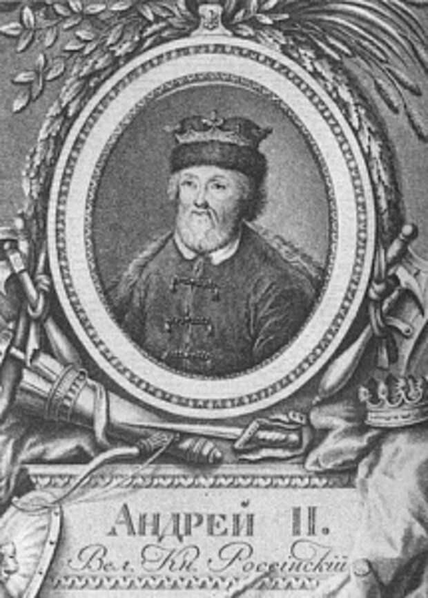 Андрей Ярославич, 1221−1264