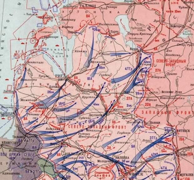 Июнь и июль 1941 года