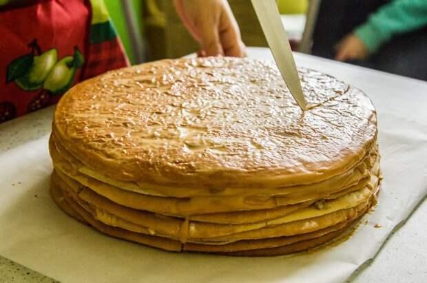 Как сделать торт ровным и красивым