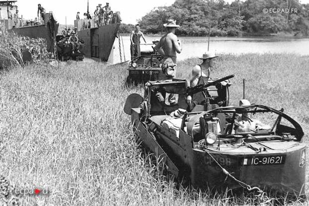 Иностранный легион против Вьетминя и катастрофа при Дьенбьенфу - 1 часть