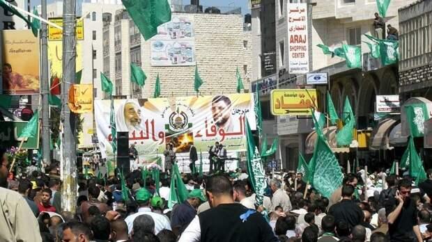 Боевики ХАМАС вновь обстреляли территорию Израиля из сектора Газа