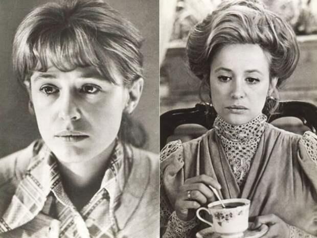 Кадры из фильмов *Слово для защиты*, 1976 и *Враги*, 1977   Фото: kino-teatr.ru