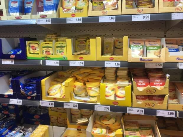 Цены на сыр