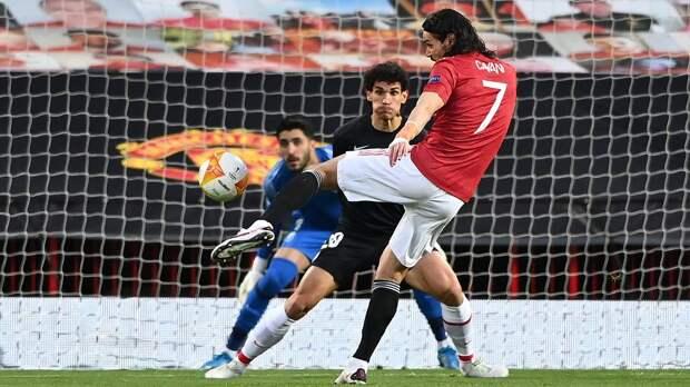 Кавани установил рекорд по числу голов среди уругвайских футболистов в еврокубках