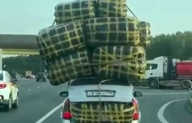 Посвятивший жизнь реальному сектору рыночной экономики Магомед, «собаку съел» на грузоперевозках: видео (1 фото)