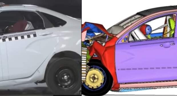 Lada Vesta в кузове хэтчбек показали на видео