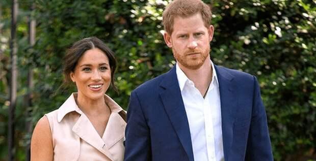 Елизавета II запретила Меган и Гарри регистрировать бренд Sussex Royal