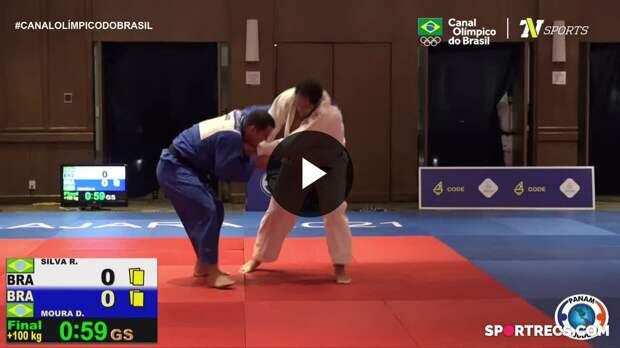 Rafael Silva conquista medalha de ouro no Pan-Americano de Judô (16/04/2021)