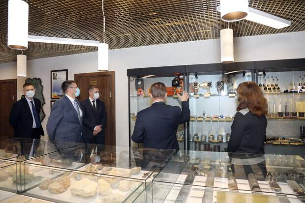 В «Удмуртнефти» создан Музей геологии с уникальной коллекцией экспонатов