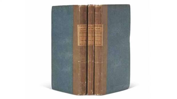 Оригинал классического романа «Франкенштейн» был продан за 1,17 млн долларов США