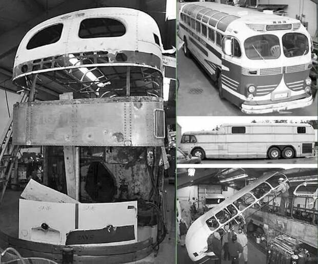 Автобус Peacemaker Il в процессе создания Peacemaker, авто, автобус, автомобили, дом на колесах, кемпер, транспорт