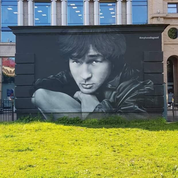 Коммунальщикам Петербурга запретили закрашивать граффити