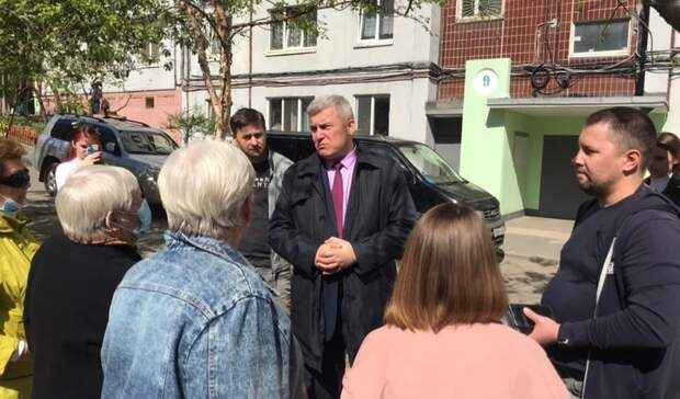 Дмитрий Лёгкий: наша задача — улучшить условия жизни в «Первомайке»