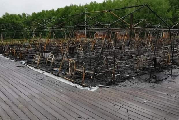 """Суд изменил меру пресечения одному из фигурантов дела о пожаре в лагере """"Холдоми"""""""
