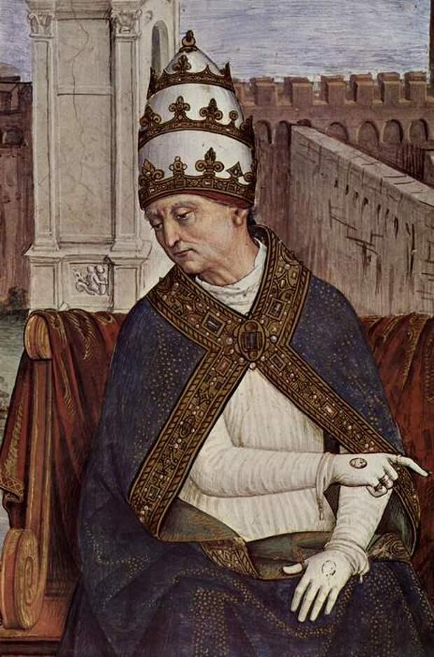 Папа Пий II - автор «Сказка о двух влюбленных».