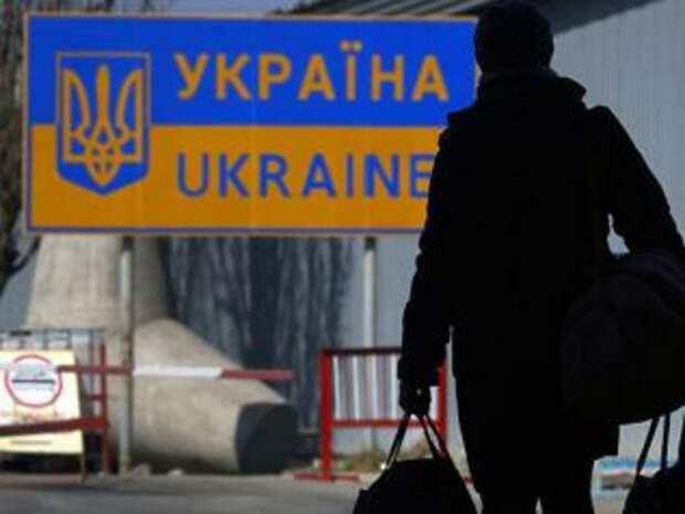40% украинцев заявили о желании покинуть страну