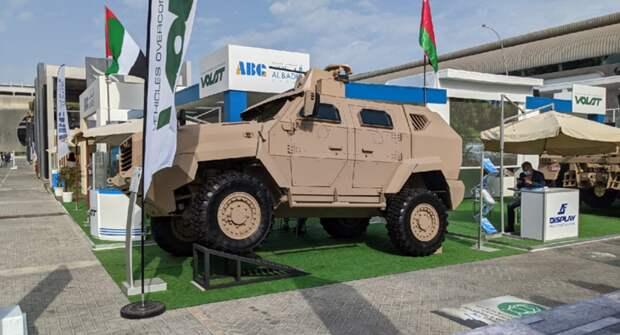 Белорусский Volat представил бронеавтомобиль МЗКТ-490101 на выставке IDEX-2021