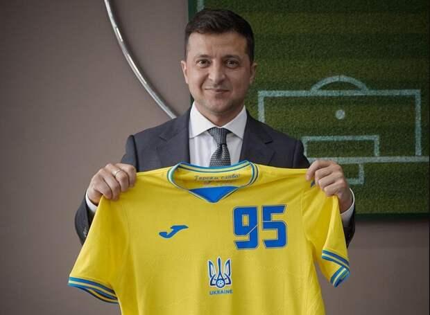 УЕФА обязал сборную Украины убрать сформы лозунг «Героям слава!»