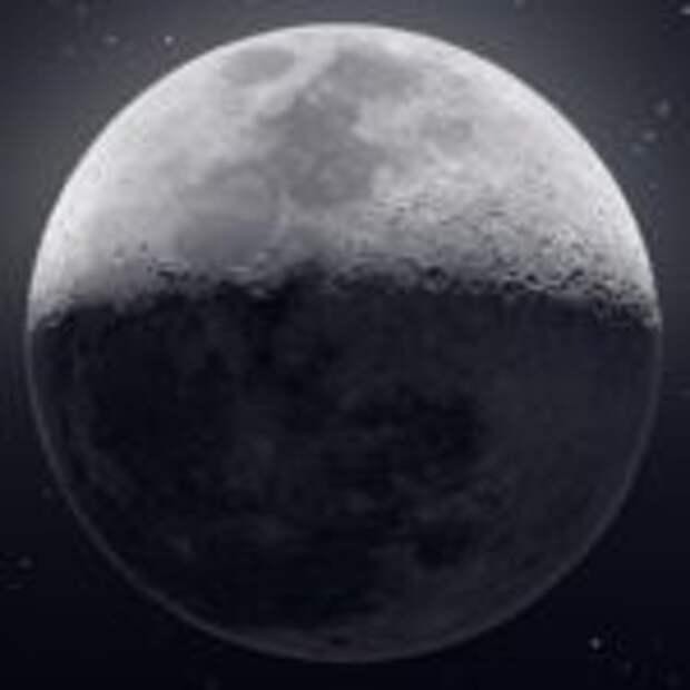 Суперснимок Луны на основе 50 тысяч кадров в сверхвысоком разрешении