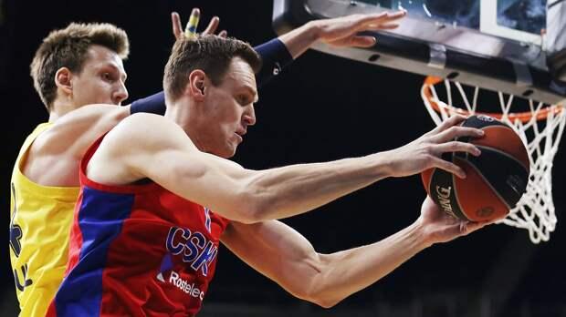 Форвард ЦСКА Фойгтманн — о поражении от «Эфеса» в Евролиге: «Мы провели великолепную игру»