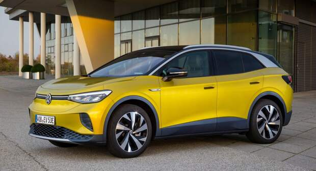 Электрический Volkswagen ID.4 стал самым продаваемым автомобилем в Швеции
