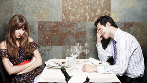 плохое свидание с парнем
