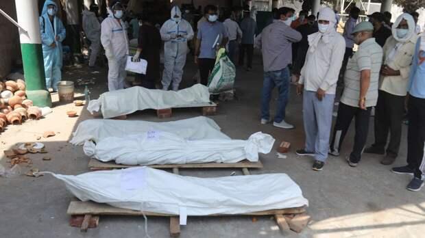 Тела умерших от коронавируса обнаружили в реке Ганг в Индии