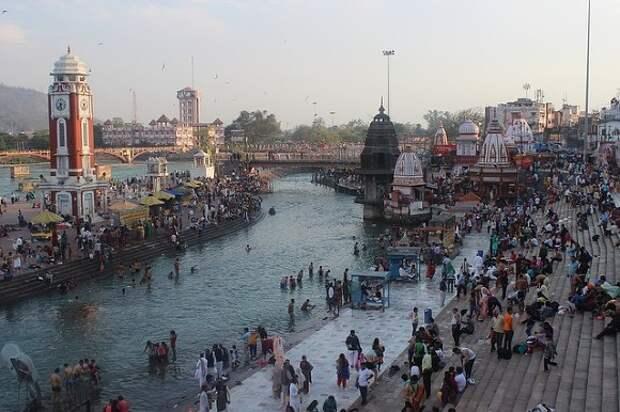 В реку Ганг в Индии сбросили тела десятков умерших от COVID-19