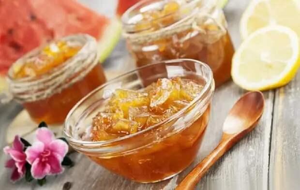Варенье из мякоти арбуза: вкусная заготовка на зиму