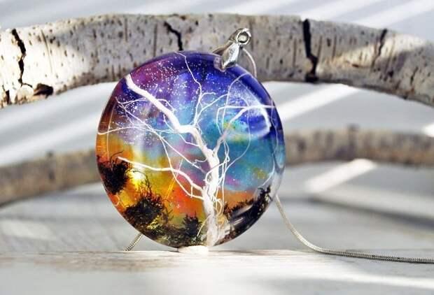 Миниатюрные Вселенные в потрясающих украшениях