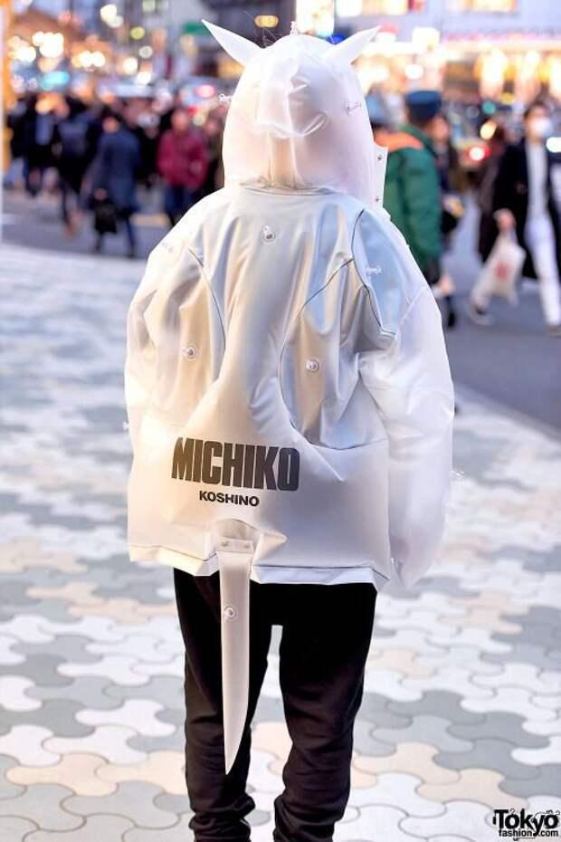 необычный капюшон куртка фото