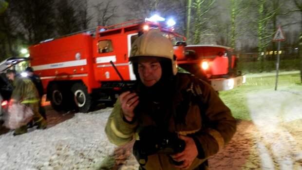 Названа вероятная причина пожара в доме престарелых под Тюменью