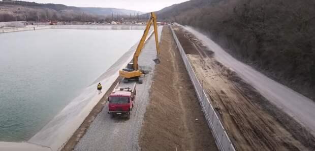 Основные работы на Бельбекском водозаборе завершены