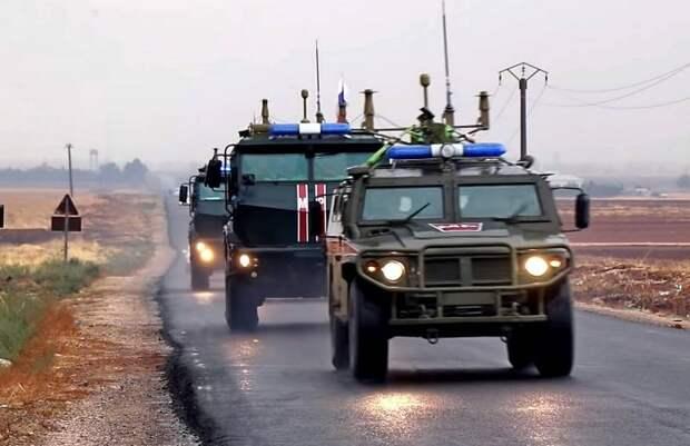 Протурецкие силы атаковали российскую бронетехнику в Сирии