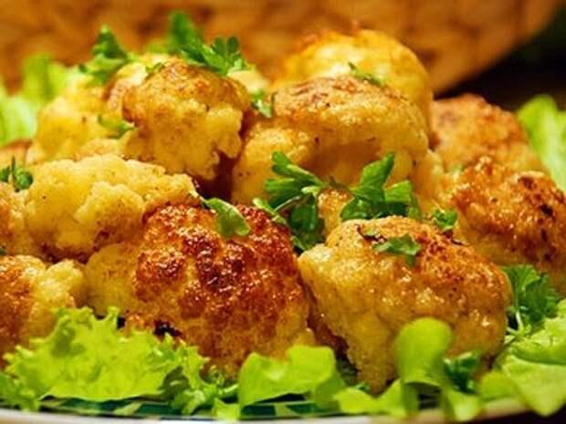 Идеальный перекус: 3 простых рецепта цветной капусты со специями и зеленью