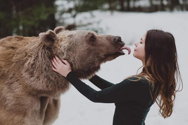 Фотограф Ольга Баранцева. Фотосессии с дикими животными и творческие портреты 18