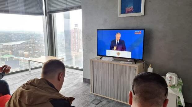 Руденко: Практически весь Донбасс посмотрел выступление Владимира Путина