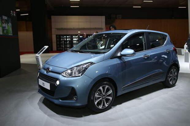 Все лучшее «детям»: помолодевший Hyundai i10 представлен в Париже