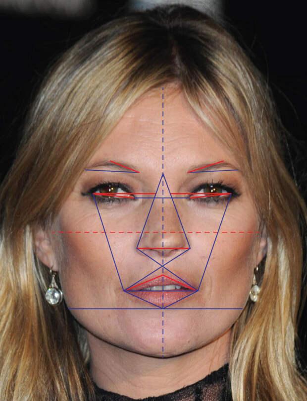 Также он взял форму лица Рианны и лоб Кейт Мосс. Иииии...    исследование, красота, лицо