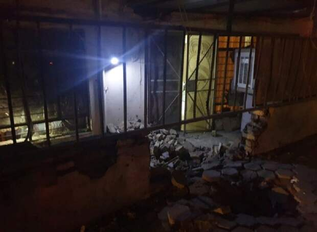 У посольства США в Багдаде взорвалась ракета