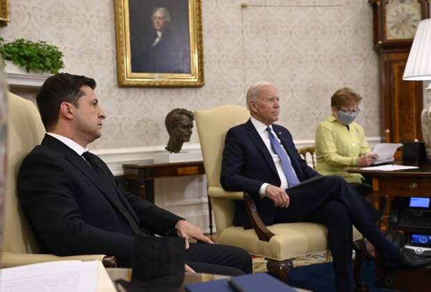 Украинский политик раскрыл «фантастическую» просьбу Зеленского на встрече в США