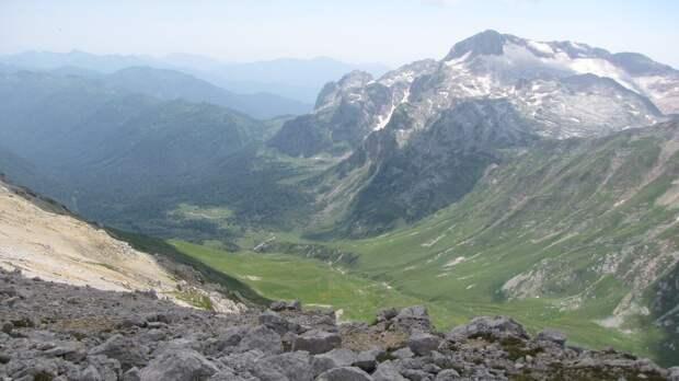 Какие горы видны из окна Краснодара? ч. 3. Оштен.