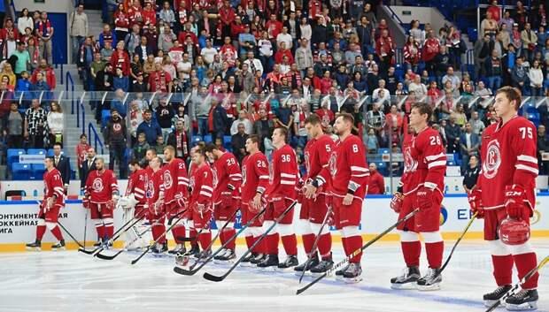 Подольский ХК «Витязь» сразится с московским ЦСКА в феврале и марте