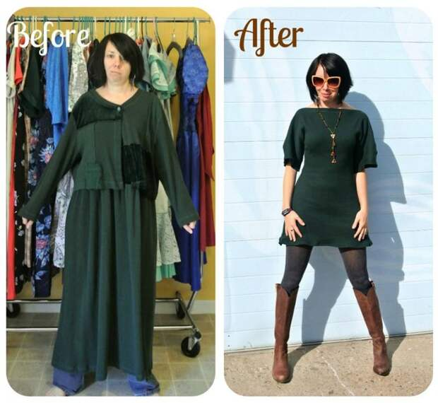 До и после: удивительные превращения одежды из секонд-хенда