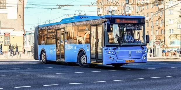 Маршруты автобусов 346 и 483 объединят в один
